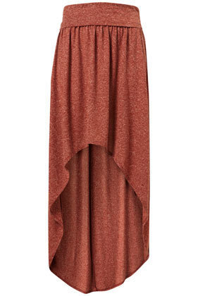 Speckle Dip Maxi Skirt - Skirts  - Apparel