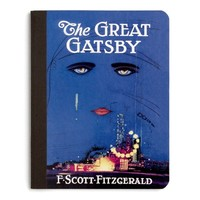 The Great Gatsby literary composition notebook | Outofprintclothing.com