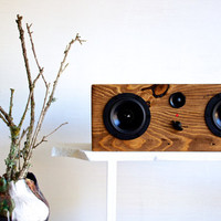 Bluetooth Reclaimed Wood Speaker || Handmade from Reclaimed Pine || We