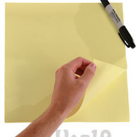 Jumbo StickIt Pad: 80 giant sticky notes