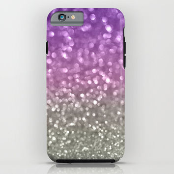 Lilac and Gray iPhone & iPod Case by Lisa Argyropoulos