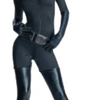 Batman The Dark Knight Rises Secret Wishes Adult Catwoman Costume:Amazon:Clothing