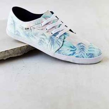 Globe Red Belly Pattern Sneaker  Urban Outfitters