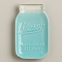 Mason Jar Ceramic Spoon Rest - World Market