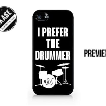 I Prefer The Drummer - Try Hard - 5SOS - 5 Seconds of Summer - Available for iPhone 4 / 4S / 5 / 5C / 5S / Galaxy S3 / S4 / S5 - 640