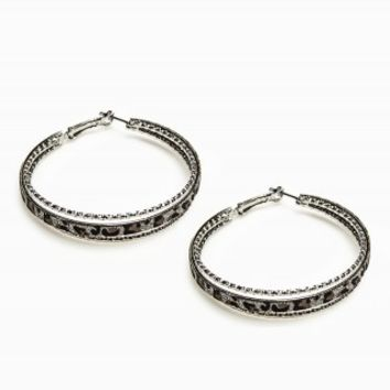 ANIMAL HOOP EARRINGS