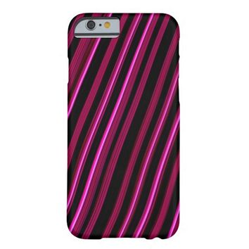 """""""Pink Lines"""" Abstract iPhone 6 Case"""
