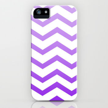 Purple Chevron iPhone & iPod Case by Rebekah Joan