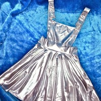 SWEET LORD O'MIGHTY! SPACEBABY PINAFORE DRESS