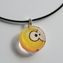 Who Me Smiley Face Resin Pendant (5.. on Luulla