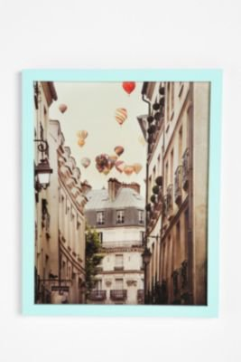 Irene Suchocki Balloons Over Paris Framed Print