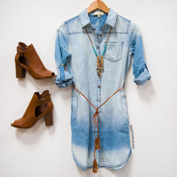 Dollie Denim Dress