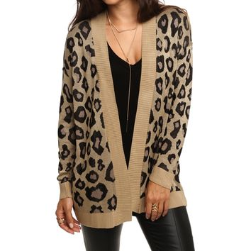 Leopard Wild Out Cardigan