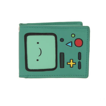 Adventure Time BMO Bi-Fold Wallet