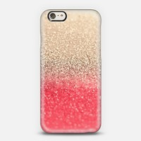 Gatsby Coral Gold iPhone 6 case by Monika Strigel | Casetify