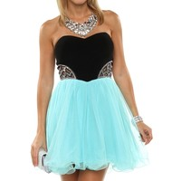 Ryder- Mint Homecoming Dress