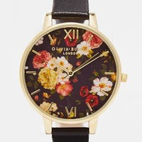 Olivia Burton Winter Garden Floral Watch at asos.com