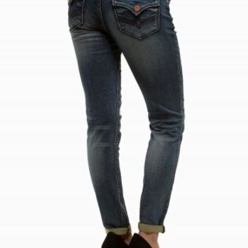 HYDRAULIC JEGGING ROLL UP JEANS