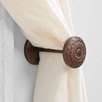 4040 Locust Engraved Doorknob Curtain Tie-Back  Urban Outfitters