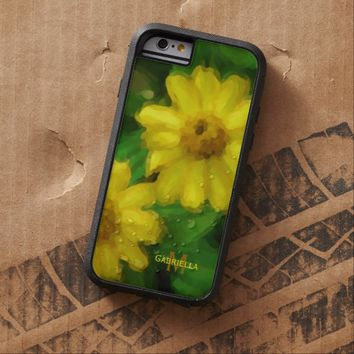 Yellow Flower: Personalized: iPhone 6 case