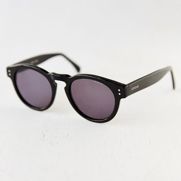 KOMONO Clement Black Round Sunglasses  Urban Outfitters