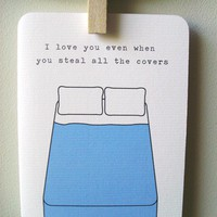 I love you even when by 4four on Etsy