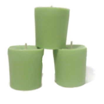 Eco friendly soy Candy Cane candles Christmas candles USA