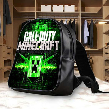 Minecraft Call Of Dutty Backpack, School Bag, Bag Kids Fun and Be Your Self
