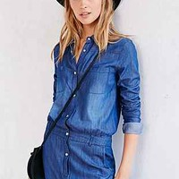 One Teaspoon Chambray Defender Utility Jumpsuit - Urban Outfitters