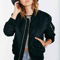 Alpha Industries MA-1 Bomber Jacket - Urban Outfitters