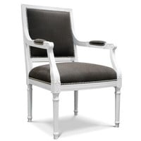 Jonathan Adler Louis Arm Chair in Chairs, Benches, And Ottomans