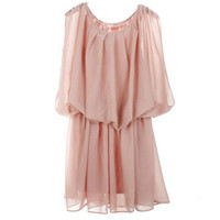 Bqueen Sleeveless Chiffon Dress BY257F