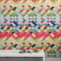 Blik Wall Decals: Fishwall ~ Pattern Wall Tiles