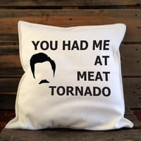 Meat Tornado Pillow