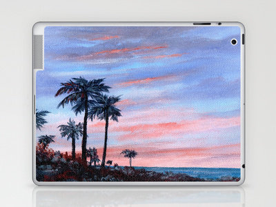 Florida Sunset Laptop & iPad Skin by Rosie Brown | Society6