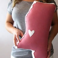 Customizable Mississippi State Pillow
