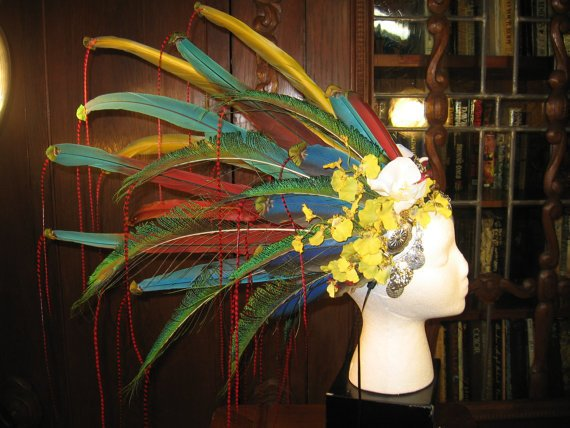 Headdress Jungle Mystic