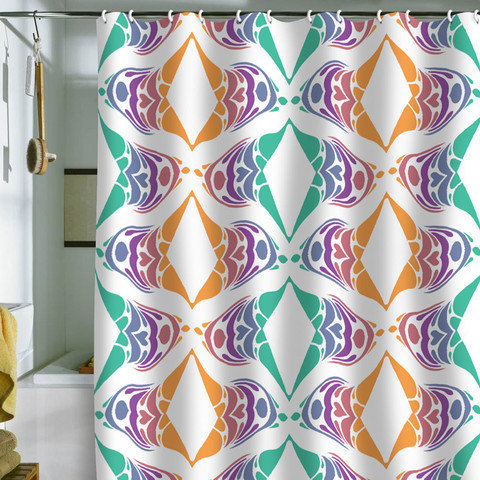 DENY Designs Home Accessories | Karen Harris Carnival Escapade Shower Curtain