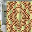 Karen Harris Vibration Shower Curtain