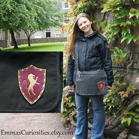 Gryffindor Messenger bag Harry Potter satchel canvas