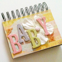 Premade Mini Scrapbook Baby Girl