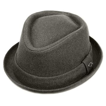 Unisex Structured Wool Fedora Winter Hat ( 3 Colors )