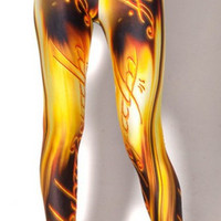 Lord Of the Rings Leggings - Ringed in Gold