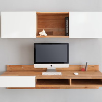 LAXseries 3X Shelf and Wall Mounted Desk