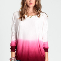 Time After Time Ombre Top - $48.00 : ThreadSence.com, Your Spot For Indie Clothing & Indie Urban Culture