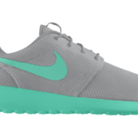 Nike Roshe Run iD Custom Women's Shoes - Grey