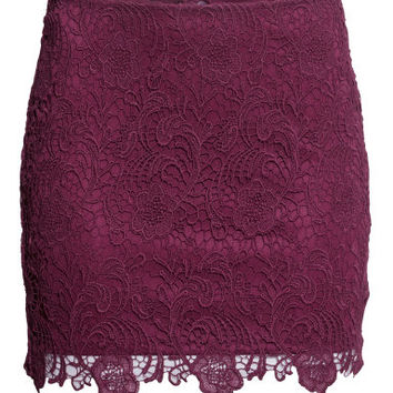 H M Lace Skirt 29.95