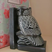 Wise Old Owl Bookstoppers, Home Accessories from Berry Red