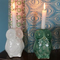 Owl Candlestand, Home Accessories from Berry Red