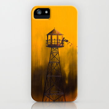 Autumn Tower iPhone & iPod Case by Timone | Society6